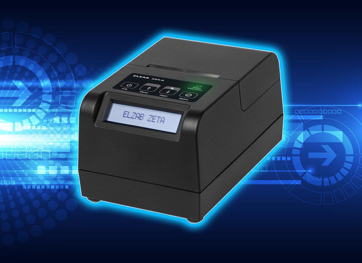 Mała drukarka Elzab, która zaskakuje wydajnością. Jednym słowem: Zeta!