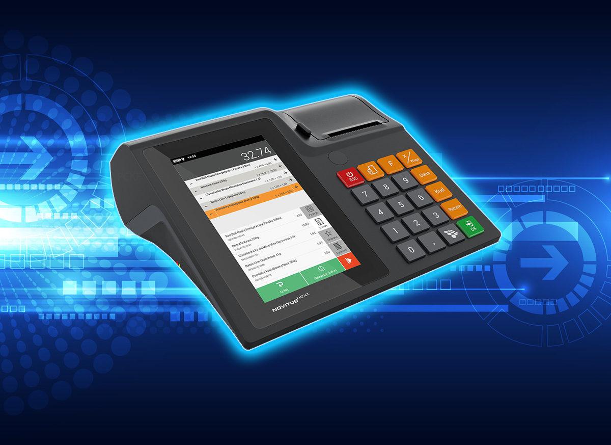 Innowacyjna kasa Next też będzie Online! Oto nowe urządzenie od Novitus